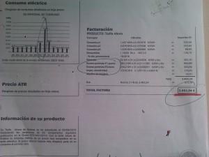 Asesoría Energética factura electrica
